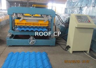 Glazed Metal Tile Roll Forming Speed 4m/min Full Automated Control Roof Panel Roll Forming Machines Use 380V/3Phase/50HZ