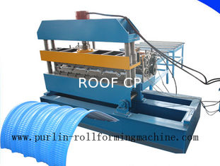 7.5KW Hydraulic Bending Machine / Pipe Rolling Machinery For 0.7mm - 1.5mm Cable Tray